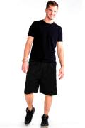 Mesh Shorts Front Black