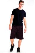 Mesh Shorts Front Burgandy