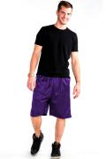 Mesh Shorts Front Purple