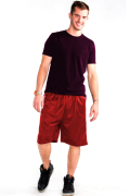 Mesh Shorts Front Red