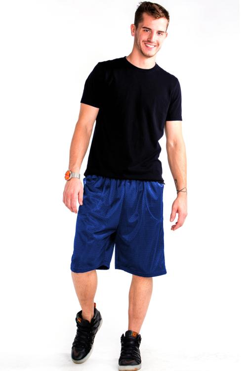 Mesh Shorts Front Royal Blue
