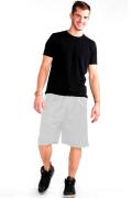Mesh Shorts Front White