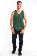 Mesh Top Front Hunter Green