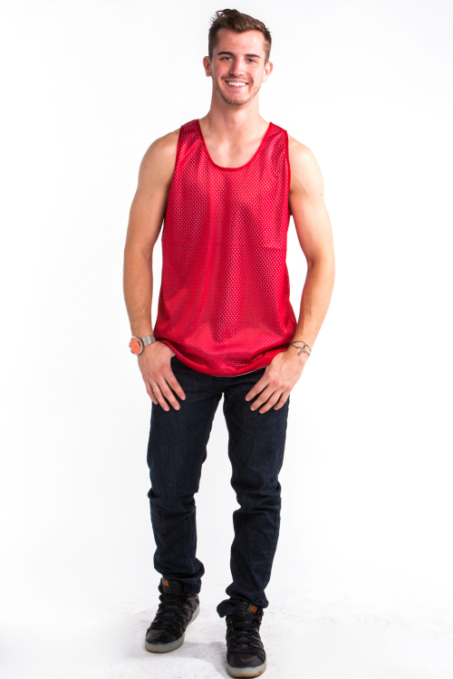 Mesh Top Front Red