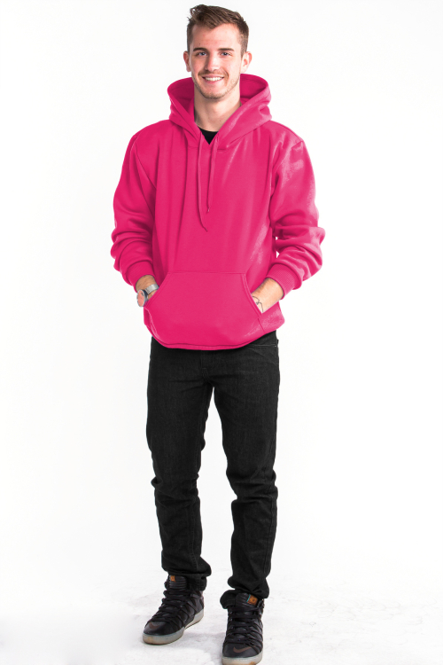 Pullover Hoodie Front Pink