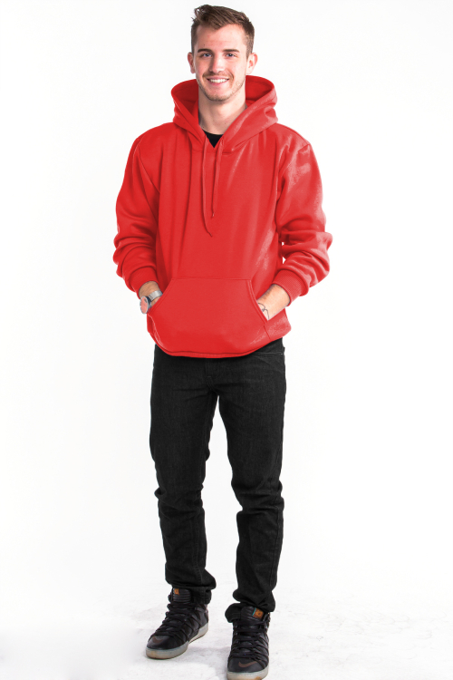 Pullover Hoodie Front Red