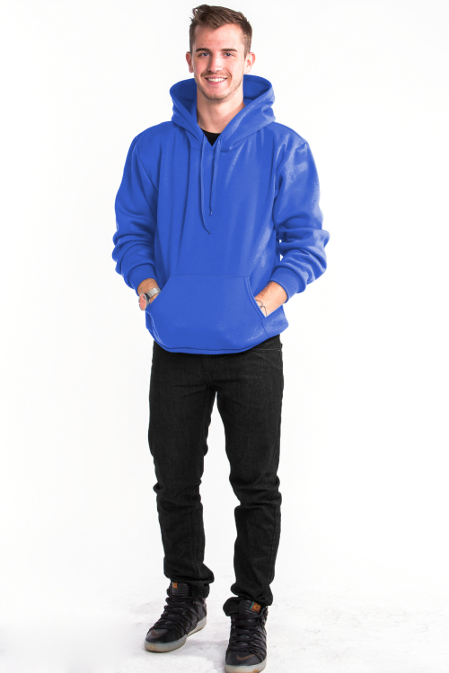 Pullover Hoodie Front Royal Blue