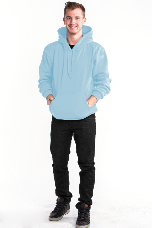 Pullover Hoodie Front Sky