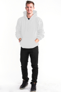 Pullover Hoodie Front White