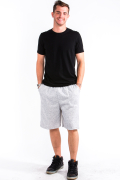 Sweat Shorts Front Heather Gray