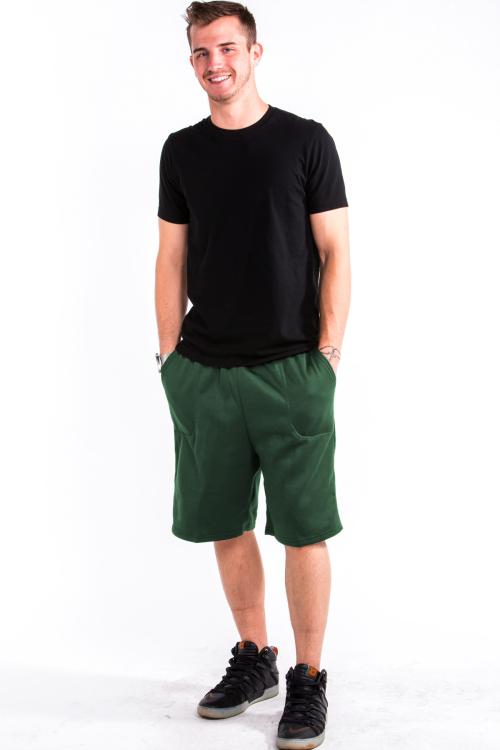 Sweat Shorts Front Hunter Green