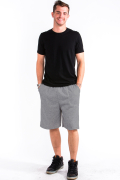 Sweat Shorts Front Medium Gray