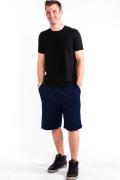 Sweat Shorts Front Navy