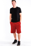 Sweat Shorts Front Red