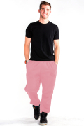 Sweatpants Front Light Pink