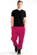Sweatpants Front Pink