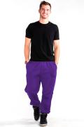 Sweatpants Front Purple