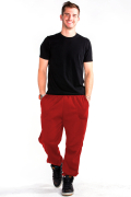 Sweatpants Front Red