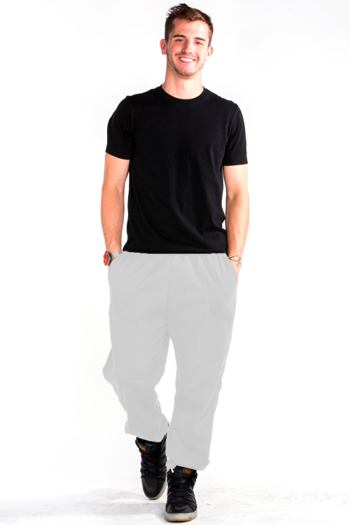 Sweatpants Front White