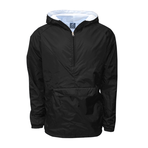 Hooded Rain Jacket Black