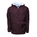 Hooded Rain Jacket Burgundy