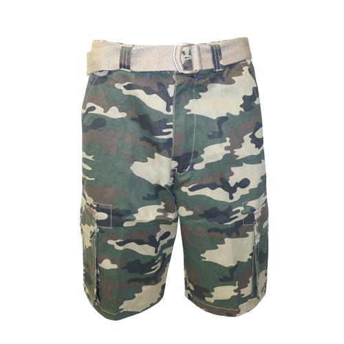 Twill Shorts Green Camo