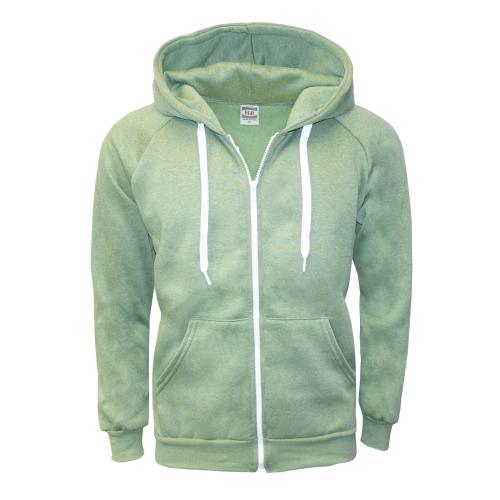 m zipper hoodie
