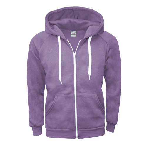 m zipper hoodie purple